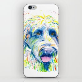 Maggie (The labradoodle) iPhone Skin
