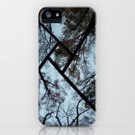 Black window iPhone Case