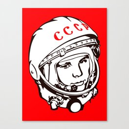 Yuri Gagarin astronaut, cosmonaut, pilot, CCCP, URSS, The first human in space Canvas Print