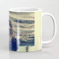 oasis Mugs featuring oasis by LindaMarieAnson