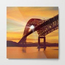 Pan-American Bridge Metal Print