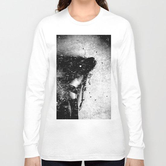 Nude art - time Long Sleeve T-shirt