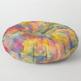 Autumn forest Floor Pillow