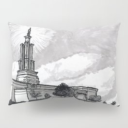 San Antonio Texas Temple Pillow Sham