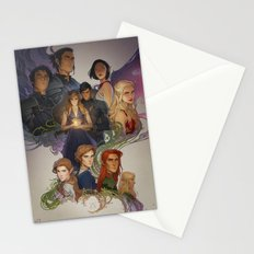 Wings and Ruin Stationery Cards