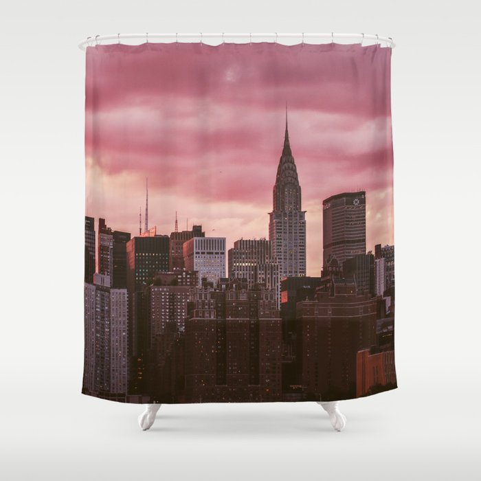 New York City Shower Curtain By Cadinera
