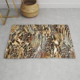 Luxury Animal Print Rug