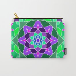 Mandala in nostalgic colors Carry-All Pouch