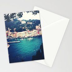 A vintage day in Portofino Stationery Cards