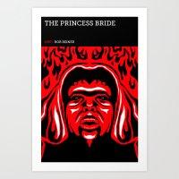 the princess bride Art Prints featuring The Princess Bride by David Edward Johnson