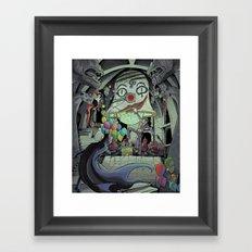 Bat In My Belfry Framed Art Print