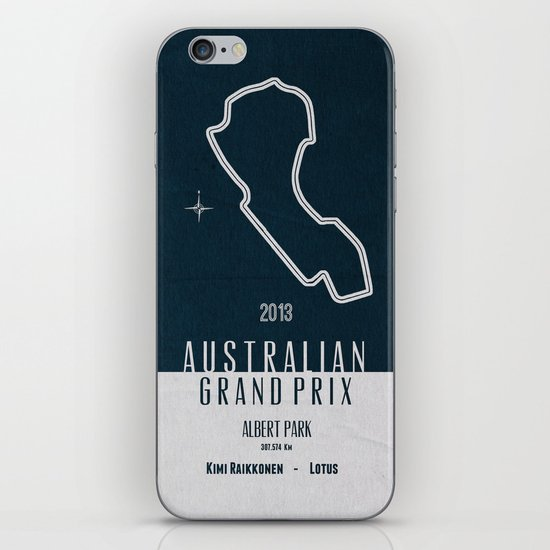 2013 Australian Grand Prix iPhone & iPod Skin