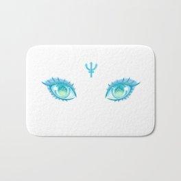 Sailor Neptune Eyes Bath Mat