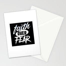 Faith over Fear Stationery Cards