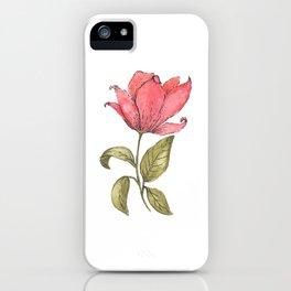 Flower Illustration / Magnolia iPhone Case
