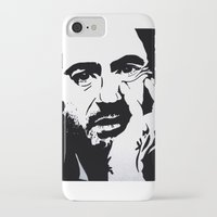 robert downey jr iPhone & iPod Cases featuring Robert Downey Jr by Olivia Iman