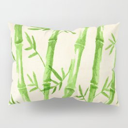Bamboo Pattern Pillow Sham