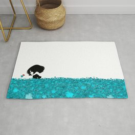 Clover and Coccinelle Rug