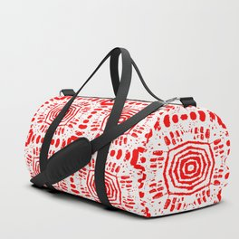 Red Medallions Duffle Bag
