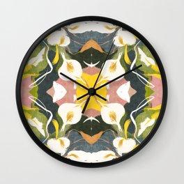 Lirios 2 Wall Clock
