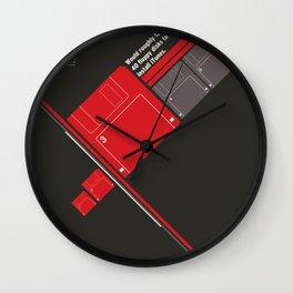 Floppy Disk Wall Clock