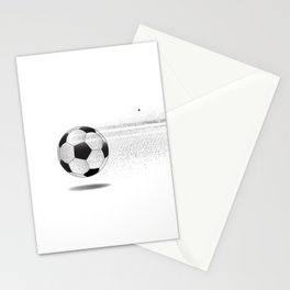 Moving Football Stationery Cards