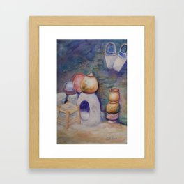 Berber Kitchen WC170413a-11 Framed Art Print