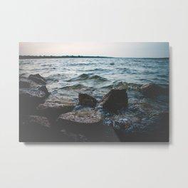 Hell or High Water Metal Print