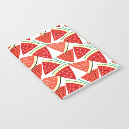 Sliced Watermelon Notebook