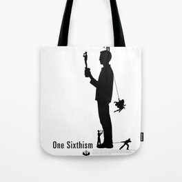 One Sixth Ism (Black Statue) Tote Bag