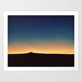 Southwestern Sunset Art Print