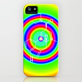 LSD rainbowdrops iPhone Case
