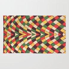 Rastafarian Tile Rug