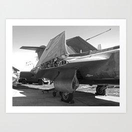 Blackburn Buccaneer S2 aircaft Art Print