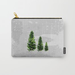Three Cute Trees Carry-All Pouch