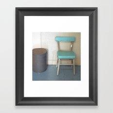 My What a Pretty Chair Framed Art Print