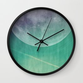Lunar Radiation Wall Clock
