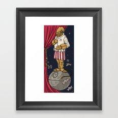 Foolish Mortals...It's a TRAP. Framed Art Print