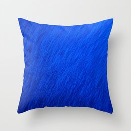 Royal Rain Throw Pillow
