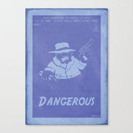 Retrogaming - Rick Dangerous Canvas Print