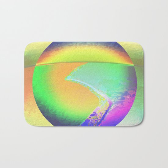 Iceberg A68 - Ultraviolet Satin Bath Mat
