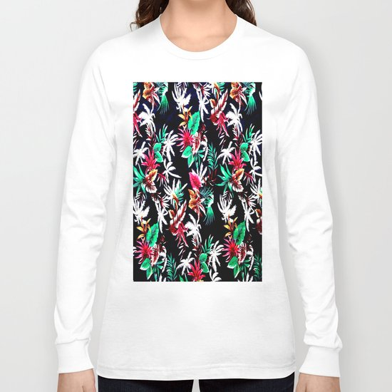 Exotic Flower Long Sleeve T-shirt