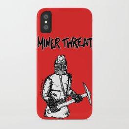 Miner Threat iPhone Case