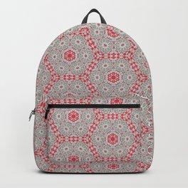 V28 Moroccan Pattern Design. Backpack