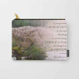 Serenity Prayer Cherry Tree One Carry-All Pouch