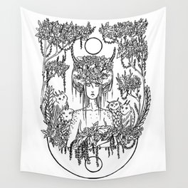 Critter Nymph Wall Tapestry