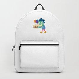 Funny Zombie Birthday Celebration Backpack