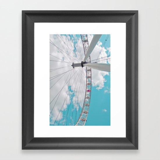 eye in the sky... Framed Art Print
