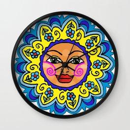 Arizona Sunshine Girl Wall Clock
