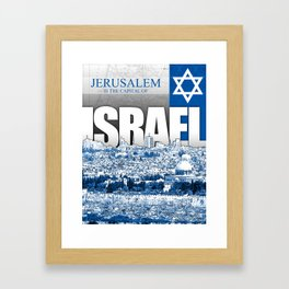 Jerusalem, Israel Framed Art Print